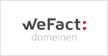 wefact domeinen logo