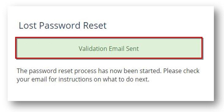 wachtwoord herstel e-mail