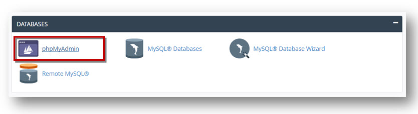 export a MySQL Database