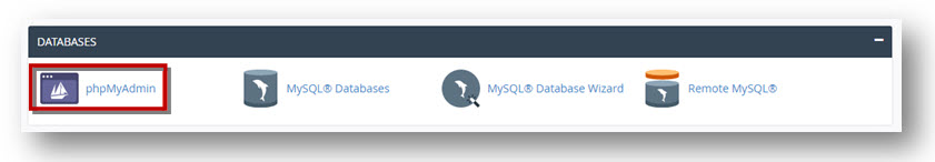 import a MySQL Database