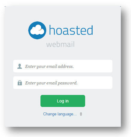 hoasted webmail login