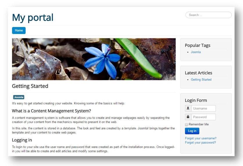 Joomla portal